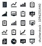set of vector isolated black... | Shutterstock .eps vector #1096251440
