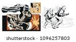 stock illustration. people in...   Shutterstock .eps vector #1096257803