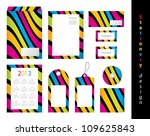 stationery design set | Shutterstock .eps vector #109625843