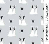 seamless pattern with...   Shutterstock .eps vector #1096263554