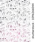 festa junina background with... | Shutterstock .eps vector #1096266044
