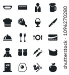 set of vector isolated black... | Shutterstock .eps vector #1096270280