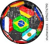 soccer ball   football... | Shutterstock .eps vector #1096276790