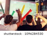 group of friends watching... | Shutterstock . vector #1096284530