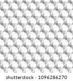 seamless 3d white diamond... | Shutterstock .eps vector #1096286270