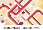 tv show broadcast funky neon... | Shutterstock .eps vector #1096310990