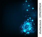 modern telecommunications... | Shutterstock .eps vector #1096339634