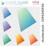 rhode island geometric...   Shutterstock .eps vector #1096340936
