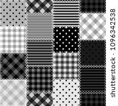 patchwork background with... | Shutterstock . vector #1096342538