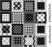 patchwork background with... | Shutterstock . vector #1096342544