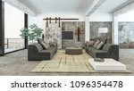 large luxury airy spacious... | Shutterstock . vector #1096354478