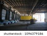 truck loading dock | Shutterstock . vector #1096379186