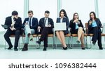 business team looking for... | Shutterstock . vector #1096382444