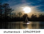 fountain at tower grove park  | Shutterstock . vector #1096399349