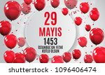 29 may day of istanbul'un fethi ... | Shutterstock .eps vector #1096406474