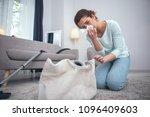 safety violation. adolescent... | Shutterstock . vector #1096409603