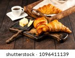 Fresh French Croissants With...