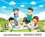 vector illustration of family...   Shutterstock .eps vector #1096417850