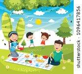 vector illustration of family...   Shutterstock .eps vector #1096417856