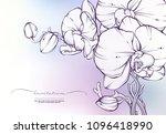 vector abstract blurred... | Shutterstock .eps vector #1096418990