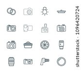 photographic icon. collection...   Shutterstock .eps vector #1096420724