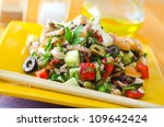 salad with seafood | Shutterstock . vector #109642424