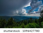 a storm is approaching in the... | Shutterstock . vector #1096427780