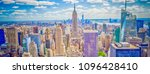 aerial panoramic view of the... | Shutterstock . vector #1096428410