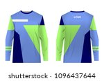 templates jersey for mountain... | Shutterstock .eps vector #1096437644