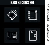 outline other 4 vector icons...