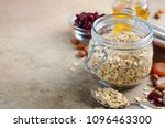 ingredients for homemade... | Shutterstock . vector #1096463300