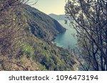 beautiful coastal landscape. | Shutterstock . vector #1096473194