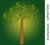 money tree for business concept | Shutterstock . vector #109647350