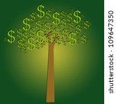 money tree for business concept | Shutterstock . vector #109647350