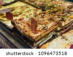 local bakery selling delicious... | Shutterstock . vector #1096473518