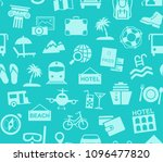 different types of holidays and ... | Shutterstock .eps vector #1096477820