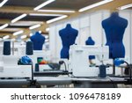 Interior Of Garment Factory ....