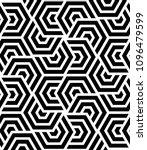 vector seamless texture. modern ... | Shutterstock .eps vector #1096479599