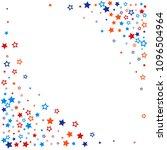 patriotic american stars... | Shutterstock .eps vector #1096504964