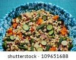 summer whole barley salad with...