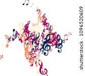 musical symbols. modern...   Shutterstock .eps vector #1096520609