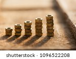 graph of a screw nuts. growth... | Shutterstock . vector #1096522208