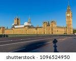 big ben in london | Shutterstock . vector #1096524950