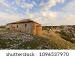the church in the kastro... | Shutterstock . vector #1096537970