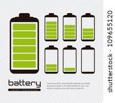 battery load illustration... | Shutterstock .eps vector #109655120