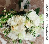 close up of wedding bouquet... | Shutterstock . vector #1096583204