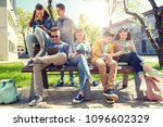 education  high school and... | Shutterstock . vector #1096602329
