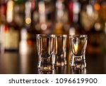 traditional pure vodka in... | Shutterstock . vector #1096619900