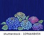 background of japanese rainy... | Shutterstock .eps vector #1096648454