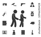 molest icon. simple element... | Shutterstock .eps vector #1096650428
